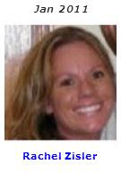 2011 Volunteer of Month - Rachel Zisler
