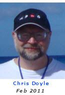 2011 Volunteer of Month - Chris Doyle