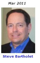 2011 Volunteer of Month - Steve Bartholet