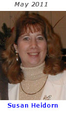 2011 Volunteer of Month - Susan Heidorn