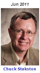 2011 Volunteer of Month - Chuck Stakston