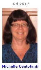 2011 Volunteer of Month - Michelle Centofanti