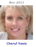 2011 Volunteer of Month - Cheryl Yasis