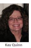 2013 Volunteer of Month Recipient - Kay Quinn