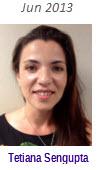 2013 Volunteer of Month Recipient - Tatiana Sengupta